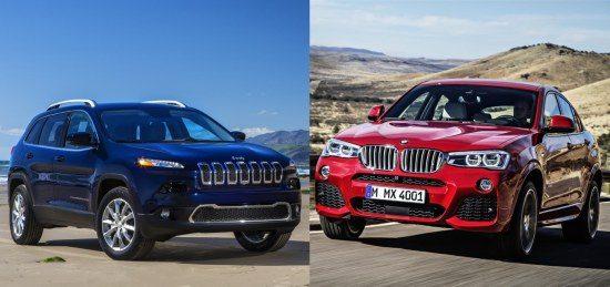 Jeep CHerokee vs BMW X4