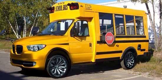 BMW i15x schoolbus