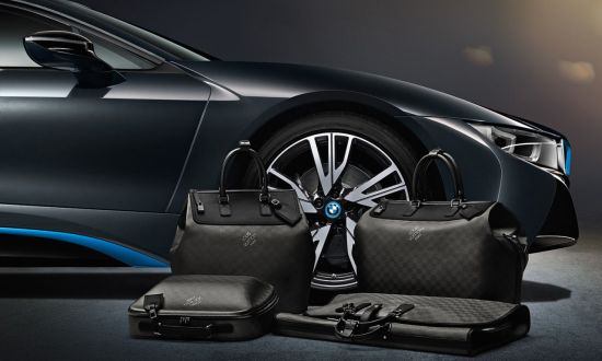 BMW i8 Louis Vuitton tassenset