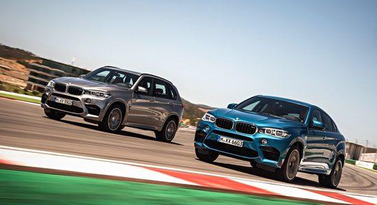 BMW X5 M en BMW X6 M