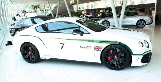 Bentley Continental GT V8 Special GT3