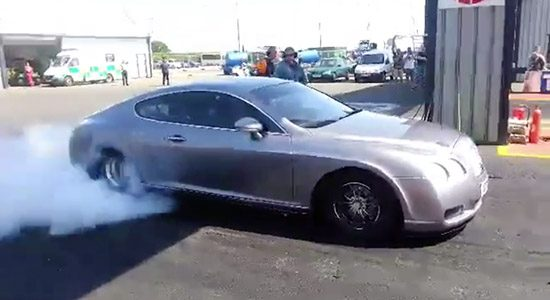 Bentley Continental GT dragracer