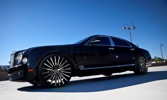 Bentley Mulsanne op 24 inch