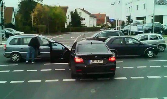 BMW-meneer is boos