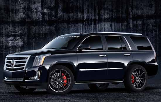 Hennessey Cadillac Escalade HPE550