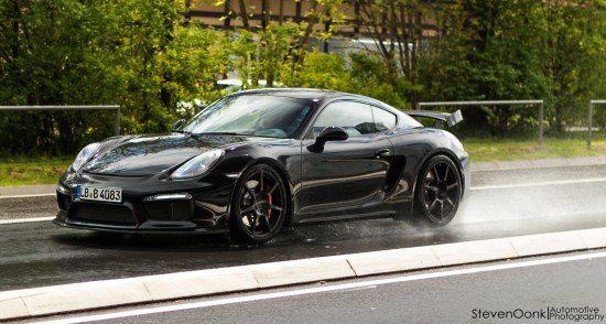 Porsche Cayman testmodel