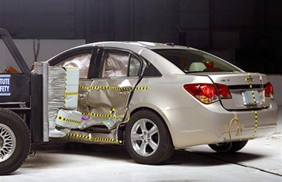 Chevrolet crashtest