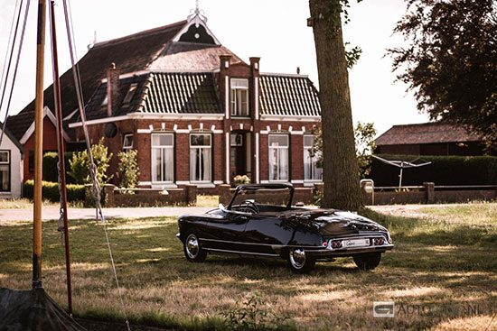 Citroen DS19 Cabriolet Usine Chapron