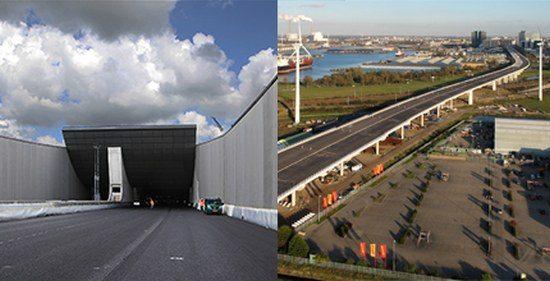Coentunnel / Westrandweg