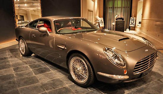 David Brown Automotive Speedback GT is moderne DB5