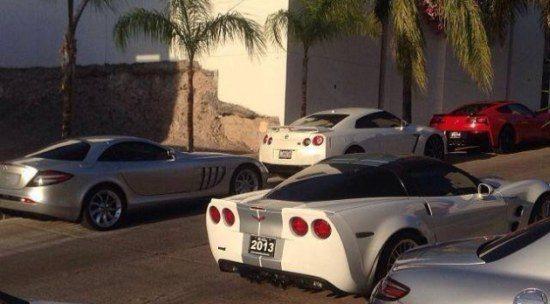 De auto's van El Chapo