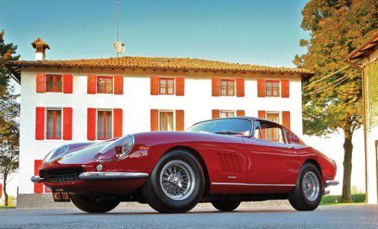 Ferrari 275 GTB/4 van Steve McQueen wordt geveild