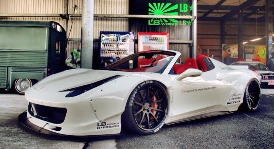 Ferrari 458 Spider LB Performance