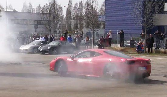 Zo heurt het: Ferrari