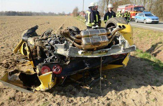 Ferrari F355 crash