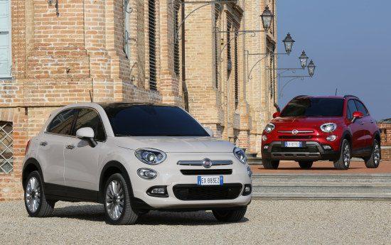 Fiat 500X en 500X Cross