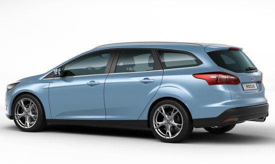 Ford Focus Estate - glacier blue