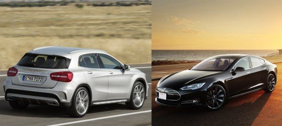 Mercedes GLA 45 vs Tesla Model S