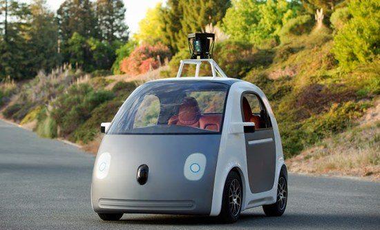 Googles autonome voertuig