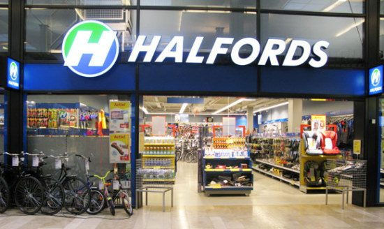 Halfords-winkel