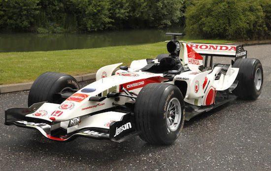 Jenson Buttons oude F1-auto kopen? Het kan voor 90 mille