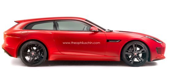 Jaguar F-Type Shooting Brake by Theophiluschin