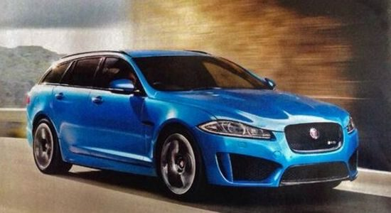 Jaguar XFR-S Sportbrake gelekt