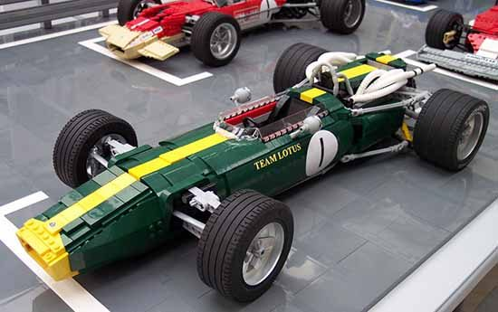 Lotus F1 auto van LEGO