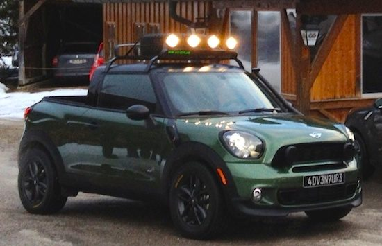 De MINI Paceman is er nu ook als pickup