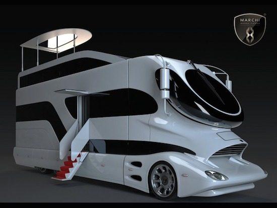 De meest lelijke en luxe camper ter wereld