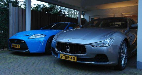 Maserati Ghibli vs Jaguar XKR-S