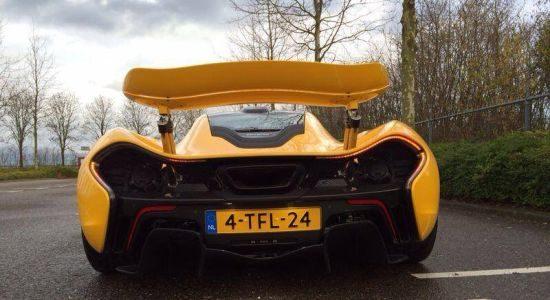 McLaren P1 Nederlands kenteken