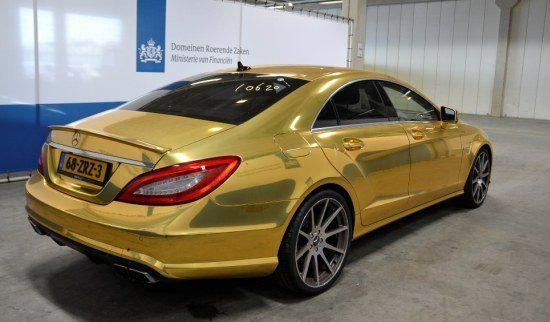Mercedes CLS goud
