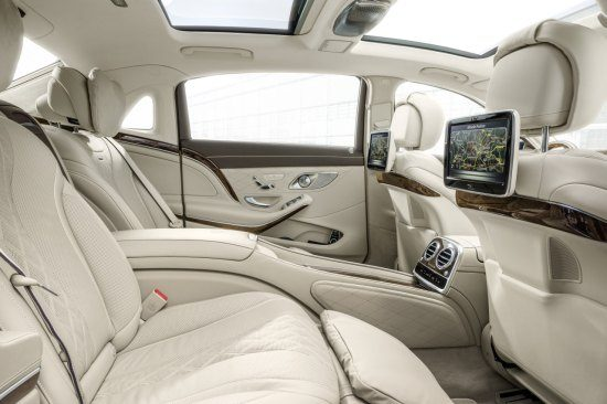 Mercedes-Maybach S-klasse interieur