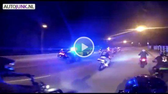 Motoren vs politie
