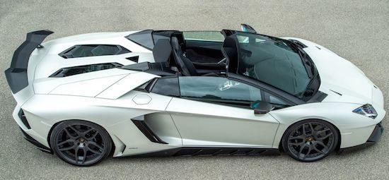 Novitec maakt een monster van de Lamborghini Aventador Roadster