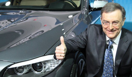 Norbert Reithofer (BMW) is blij