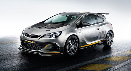 Opel Astra OPC Extreme Concept 2014