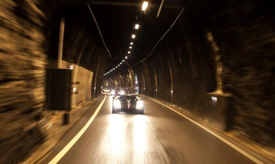 Pagani's in tunnel