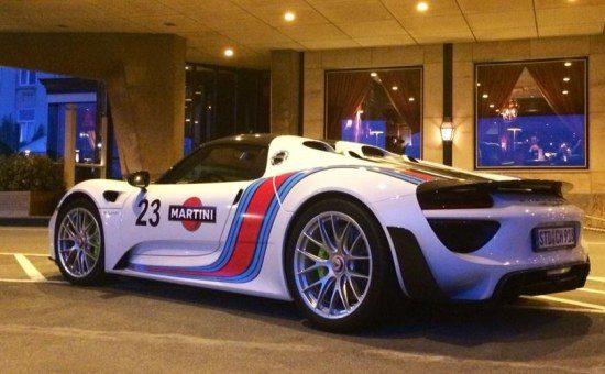 Porsche 918 Spydertini in NL