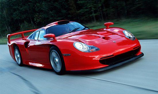 Porsche GT1 Strassenversion: slechts één van vele briljante Porsche's uit de '90's