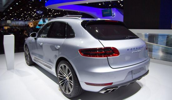 Porsche Macan Turbo @ Detroit 2014