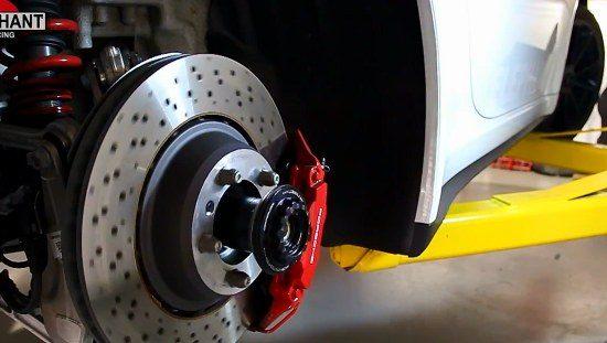 Porsches blote achterkant