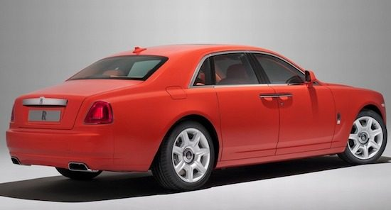Rolls-Royce Ghost Rustic Red