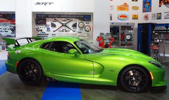 SRT Viper Stryker Green