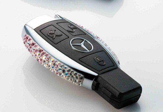 Mercedessleutel met Swarosvkimeuk
