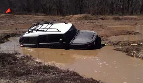Hoeveel water kan er in een FJ Cruiser
