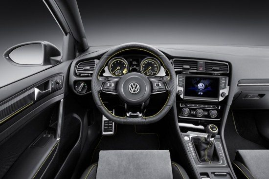 Golf R400 interieur