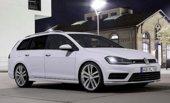 Volkswagen Golf Variant krijgt R-Line-pakket
