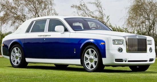 Yas Eagle Rolls Royce Phantom